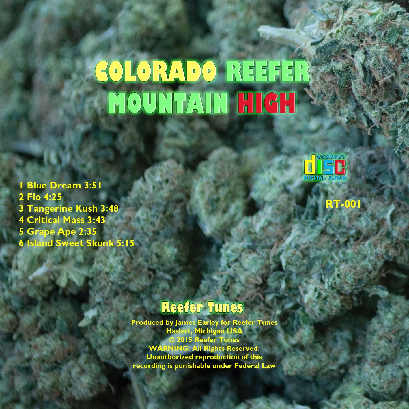 Reefer Tunes – Colorado Reefer Mountain High
