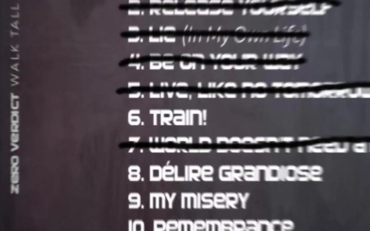 "Zero Verdict – ""Train"""