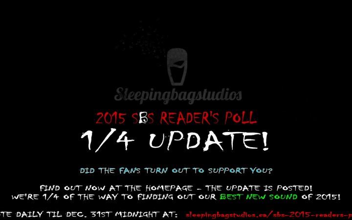 SBS Reader's Poll 1/4 Update!