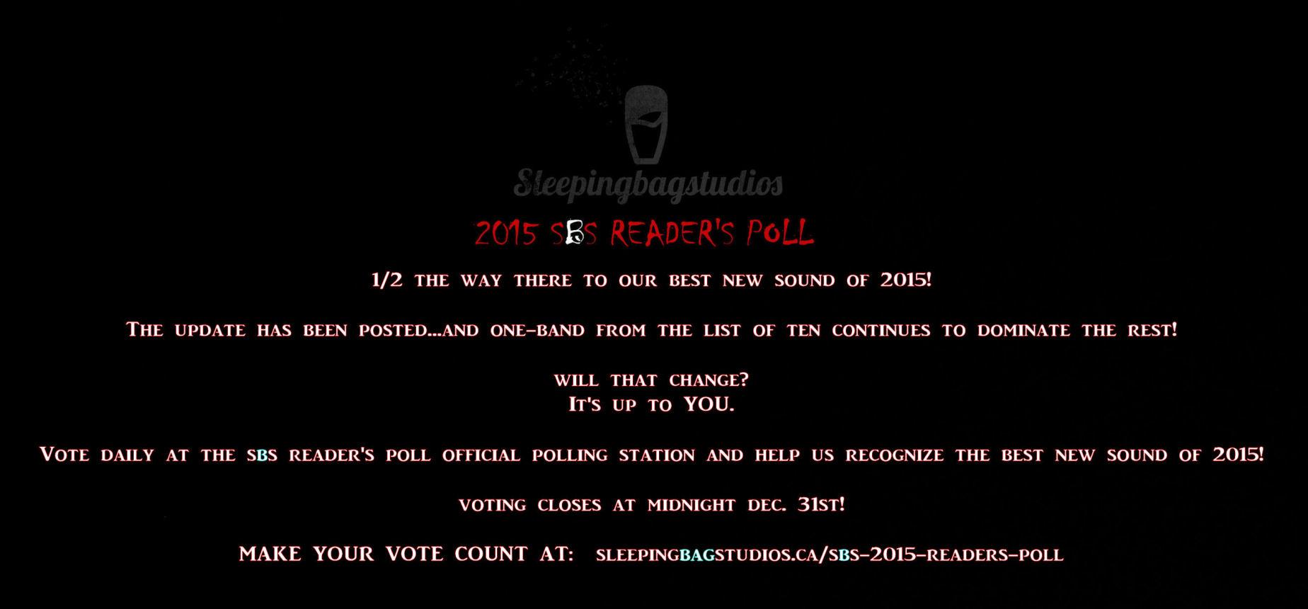 SBS Reader Vote Midway Update!