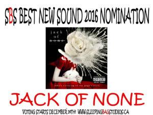 Best New Sound 2016 Nomination: Jack Of None