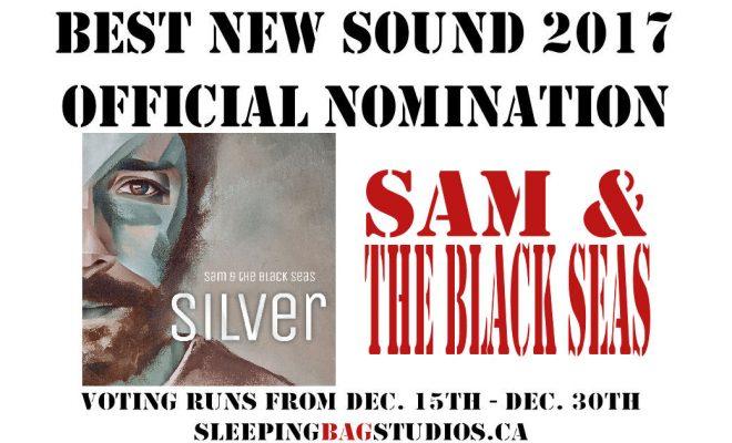 SBS Best New Sound 2017 Nominations – Sam & The Black Seas