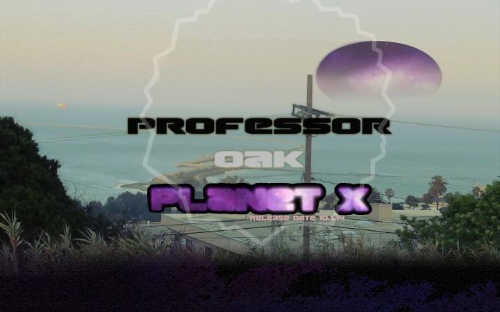 Professor Oak - Planet X