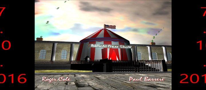 "Roger Cole & Paul Barrere – ""Political Freak Show"""