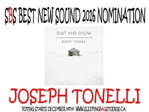 SBS Best New Sound 2016 Nomination: Joseph Tonelli