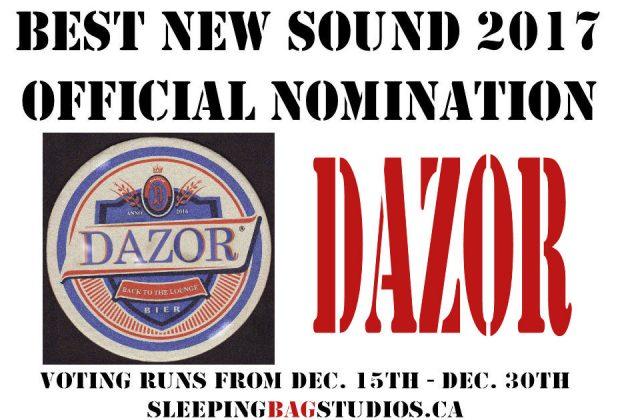 SBS Best New Sound 2017 Nominations – Dazor