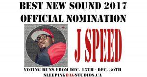 SBS Best New Sound 2017 Nominations – J Speed