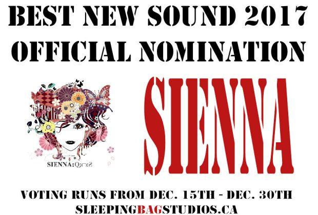 SBS Best New Sound 2017 Nominations – Sienná
