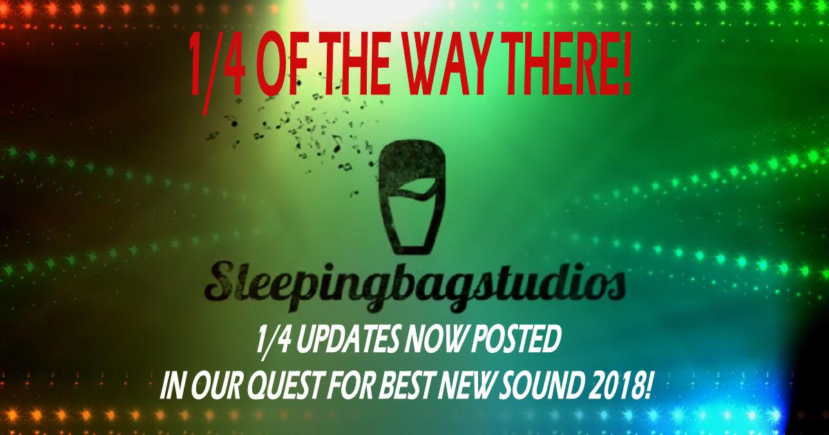 SBS Best New Sound 2018 1/4 Update!