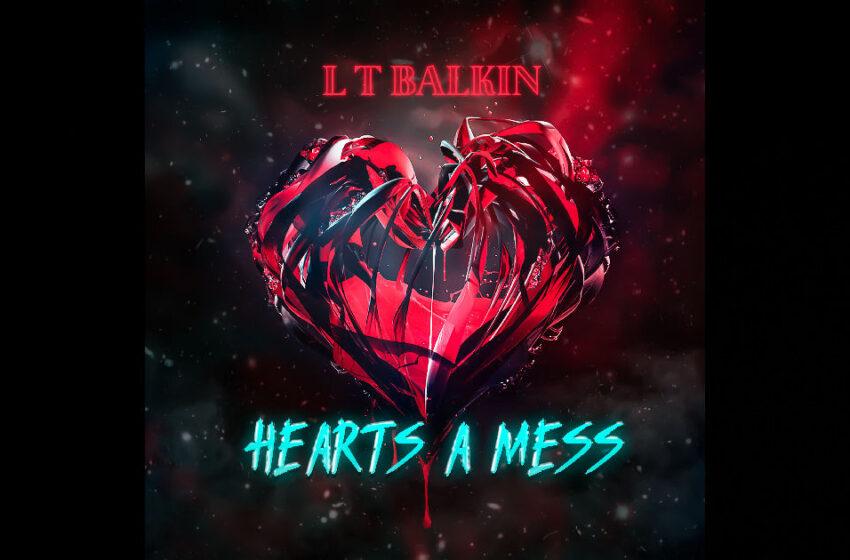 """L T Balkin – """"Hearts A Mess"""" Feat. Alison Newman & Nyukyung"""