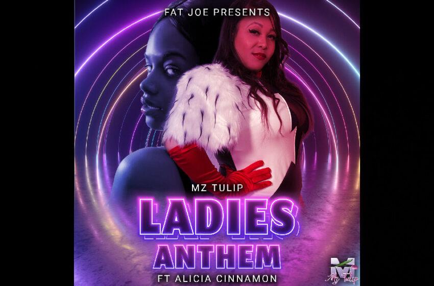 "Mz. Tulip – ""Ladies Anthem"" Feat. Alicia Cinnamon, Fat Joe, and Mega Sean"